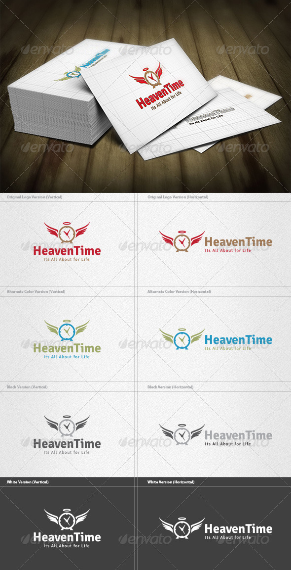 Heaven Time Logo - Symbols Logo Templates