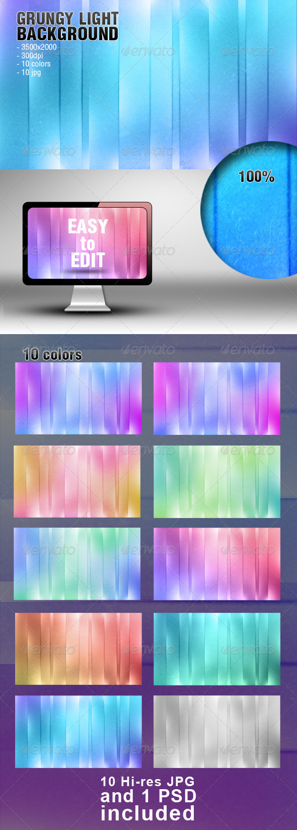 Grungy Light Background - Abstract Backgrounds