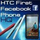 HTC First Facebok Phone 4 Colors - 3DOcean Item for Sale