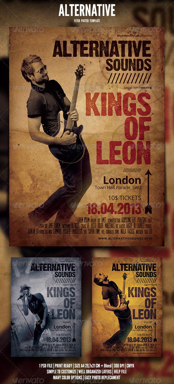 Alternative Flyer / Poster 4 - Events Flyers