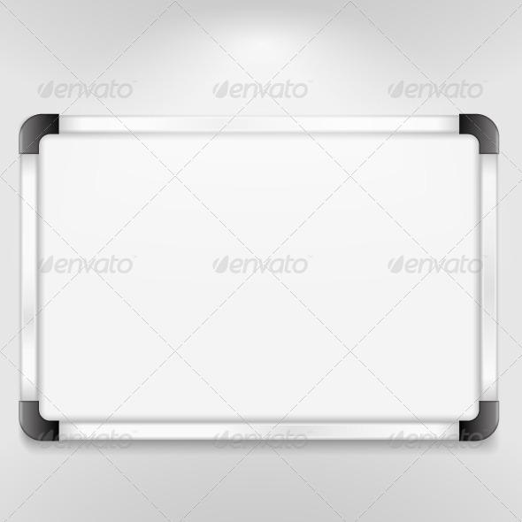 Whiteboard - Objects Vectors