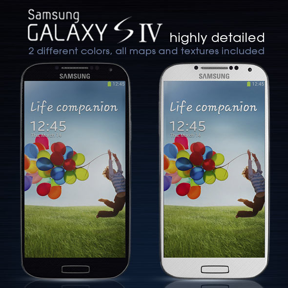 Samsung Galaxy S4 - 3DOcean Item for Sale