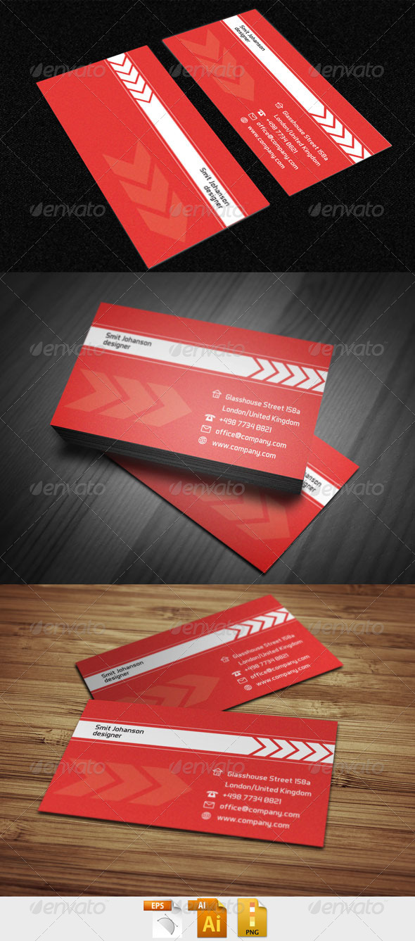 Business Card 998 - Corporate Business Cards
