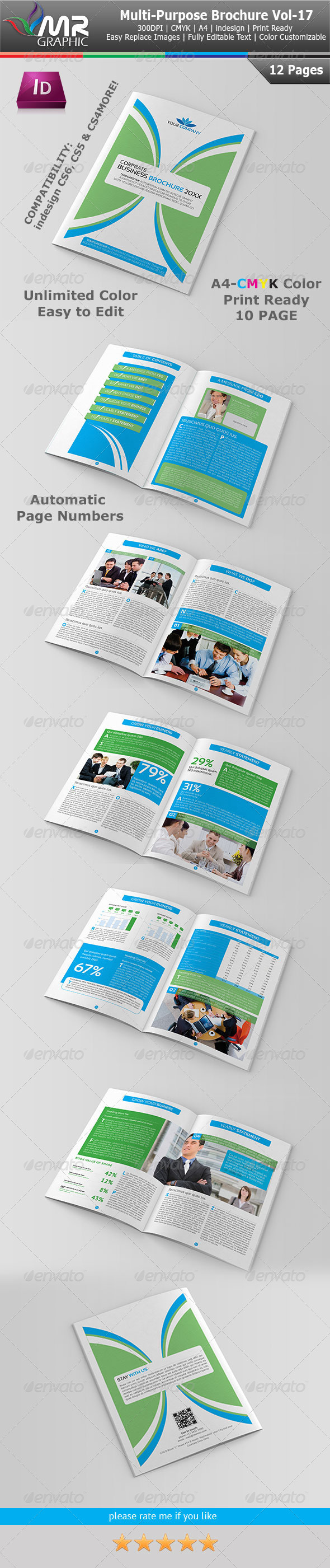 Multipurpose Business Brochure Vol-17 - Corporate Brochures