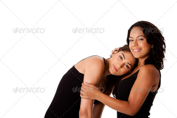 Young woman couple - Stock Photo - Images