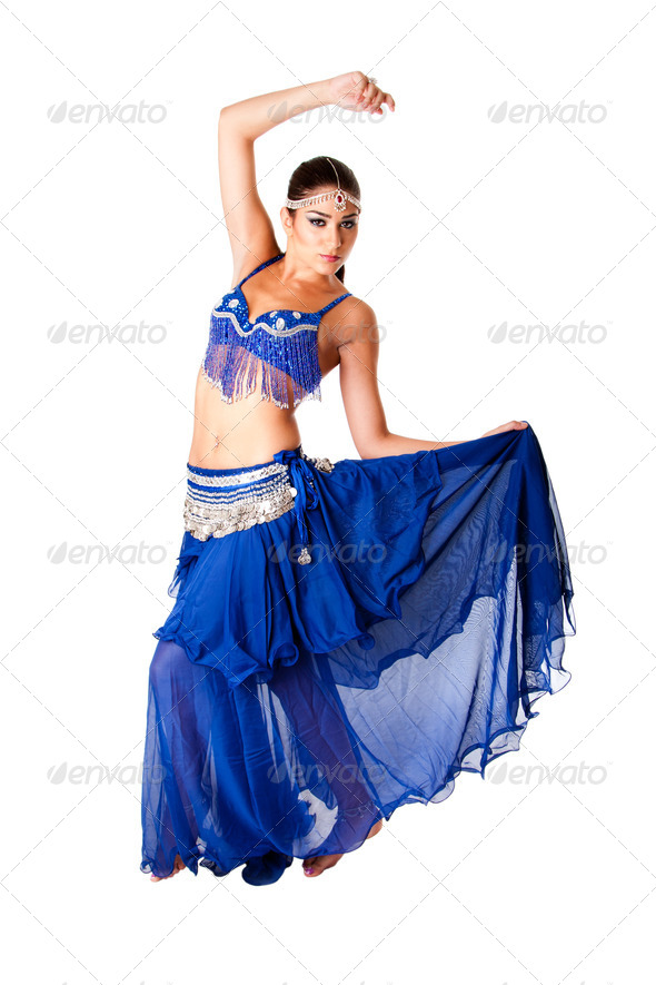 Arabic belly dancer - Stock Photo - Images
