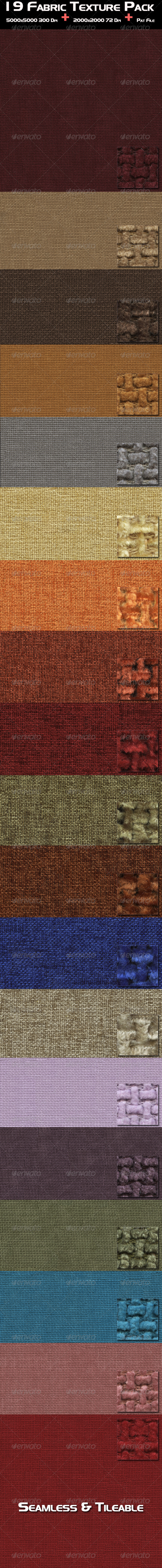 19 Fabric Texture Pack - Fabric Textures