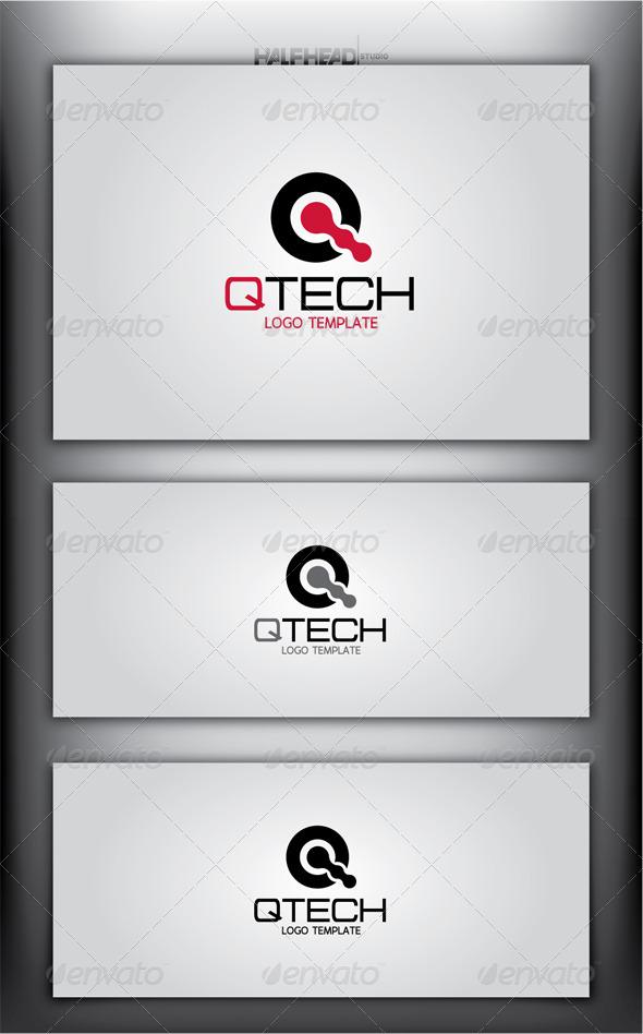 QTECH Logo Template - Letters Logo Templates