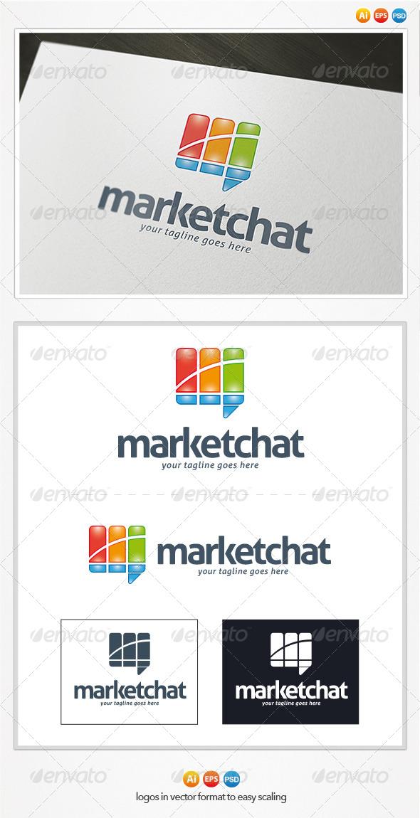Market Chat Logo - Symbols Logo Templates