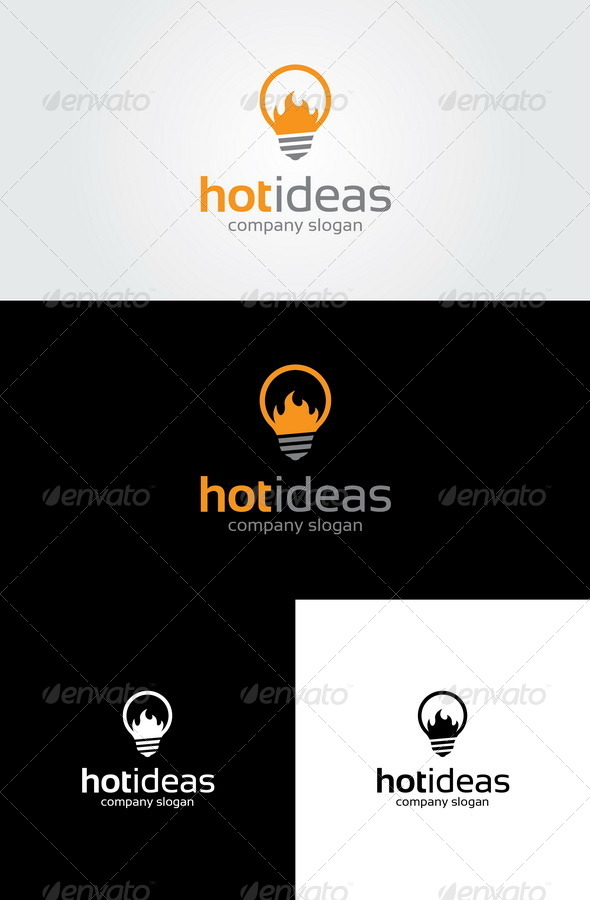 Hot Ideas - Objects Logo Templates