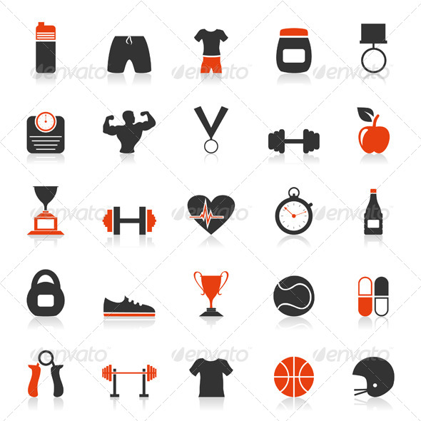 Fitness an Icon 2 - Sports/Activity Conceptual