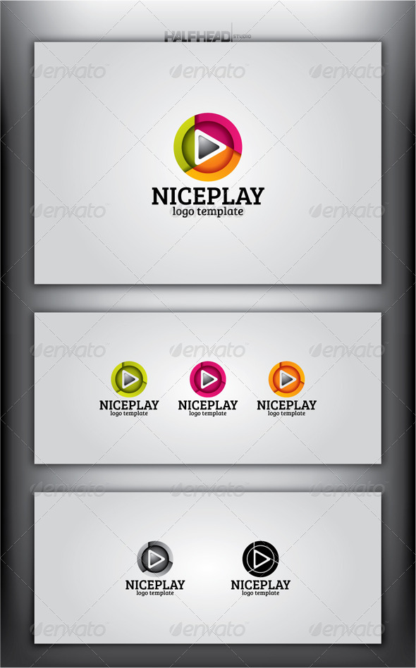 NICEPLAY Logo Template - Objects Logo Templates
