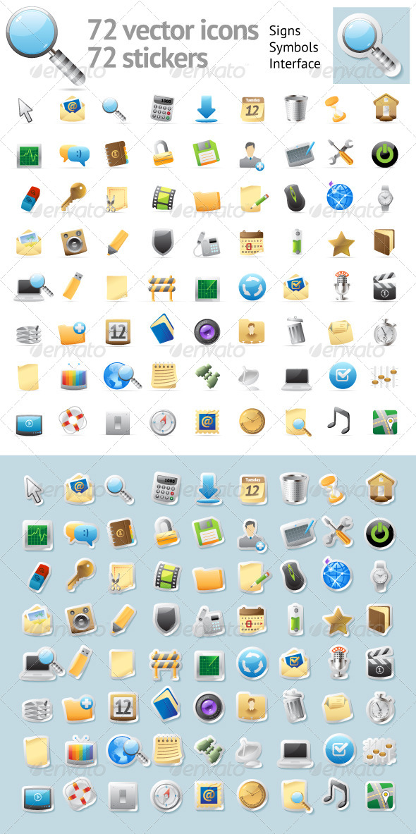 Interface Icons - Web Icons