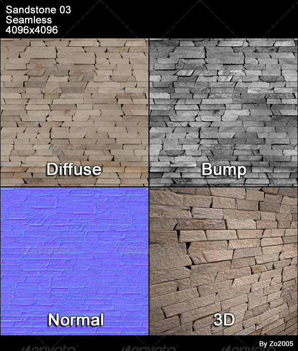 Sandstone Seamless Texture 03 - 3DOcean Item for Sale