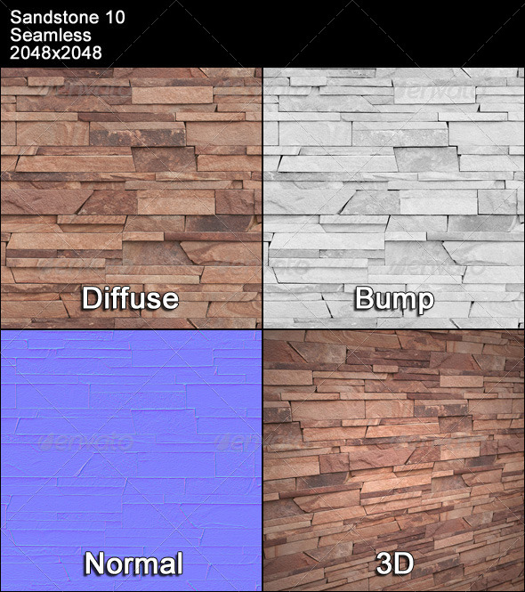 Sandstone Seamless Texture 10 - 3DOcean Item for Sale
