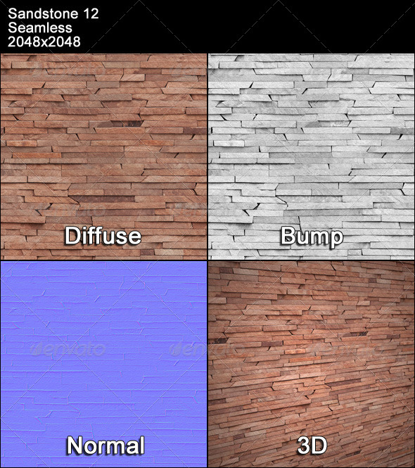 Sandstone Seamless Texture 12 - 3DOcean Item for Sale