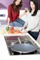 Two friends preparing food - PhotoDune Item for Sale