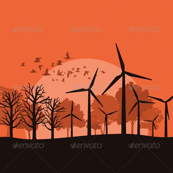 Wind Power 3 - Miscellaneous Vectors