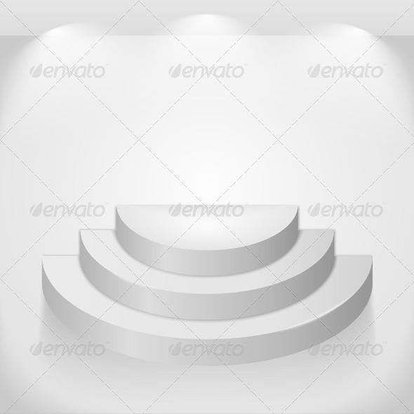 Round Shelves - Miscellaneous Vectors