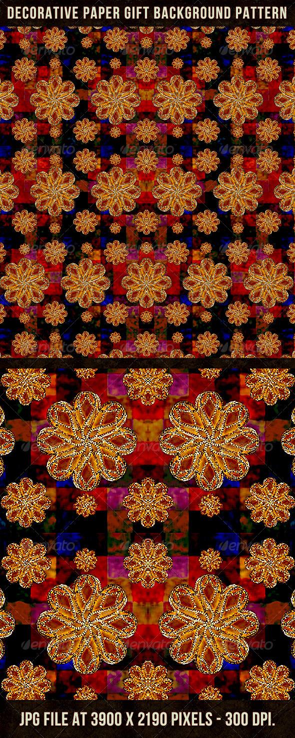 Decorative Paper Gift Background Pattern - Patterns Backgrounds