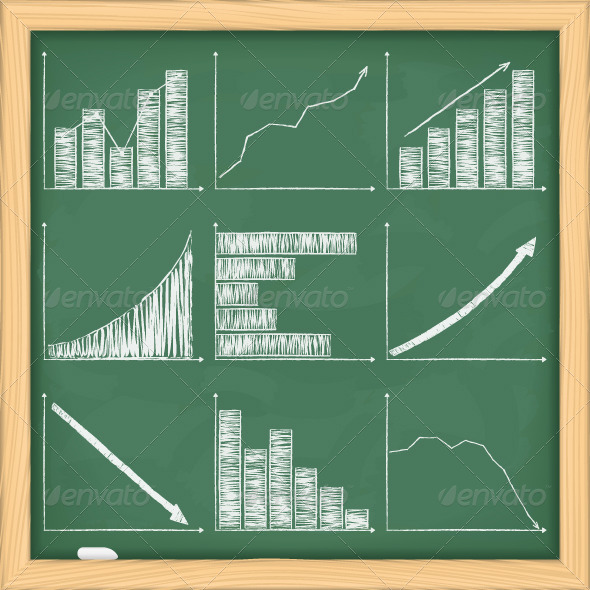 Charts on Blackboard - Business Conceptual