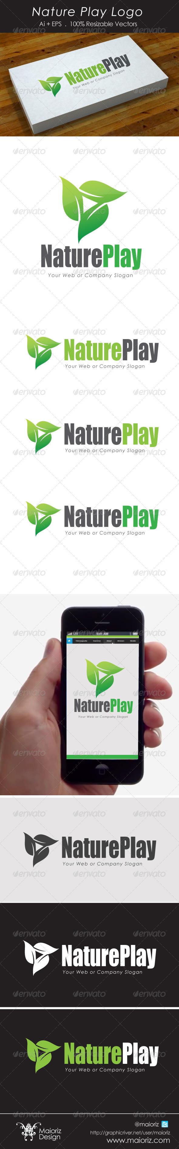 Nature Play Logo - Nature Logo Templates