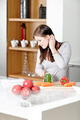 Woman reading cookery book - PhotoDune Item for Sale