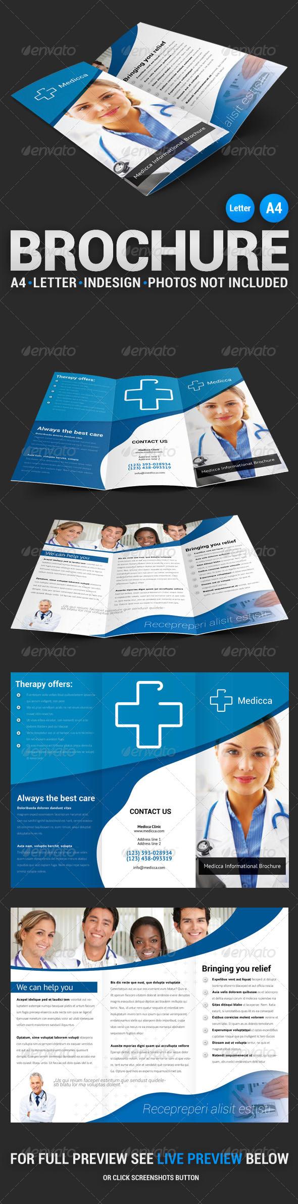 Medicca Tri-fold Brochure - Informational Brochures