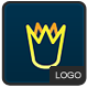 Crown logo - GraphicRiver Item for Sale