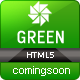 Green Corporate Under Construction Template - ThemeForest Item for Sale