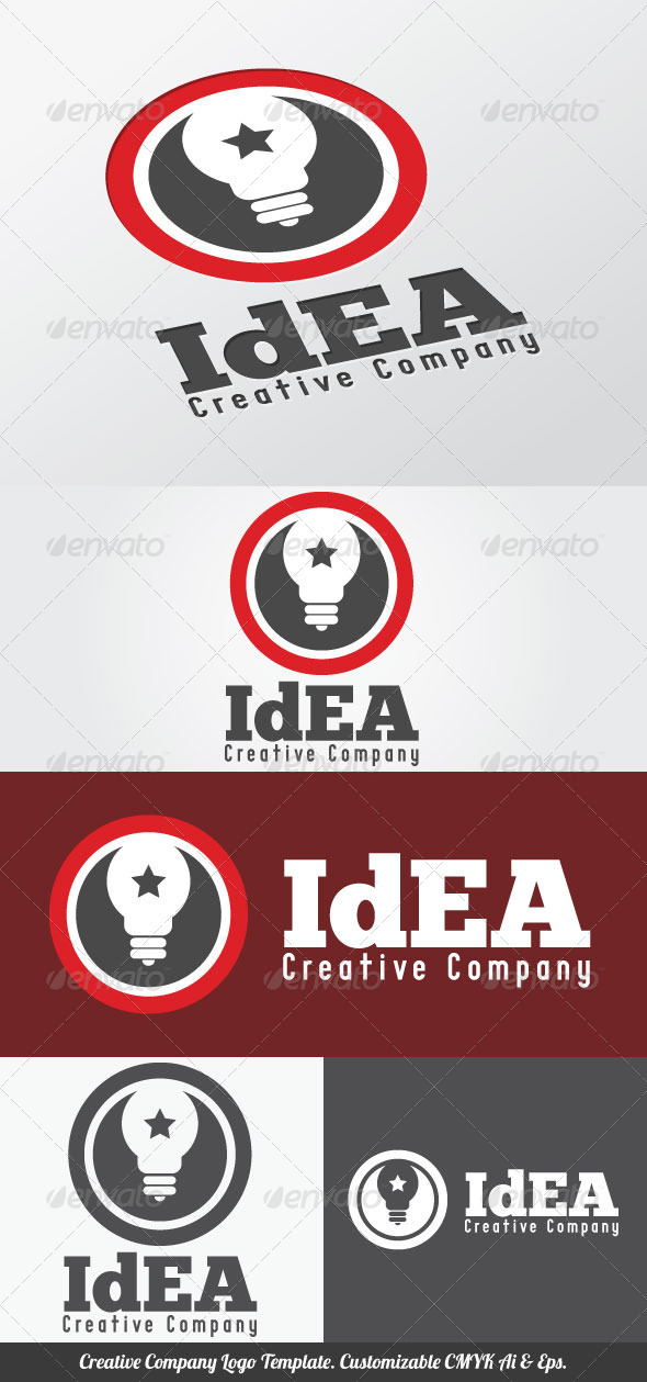 Creative Company Logo Template - Objects Logo Templates