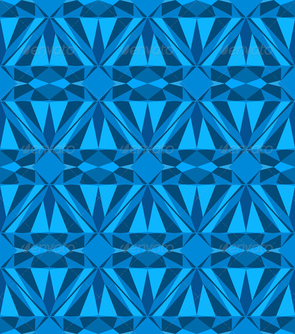 Blue Diamond - Patterns Decorative