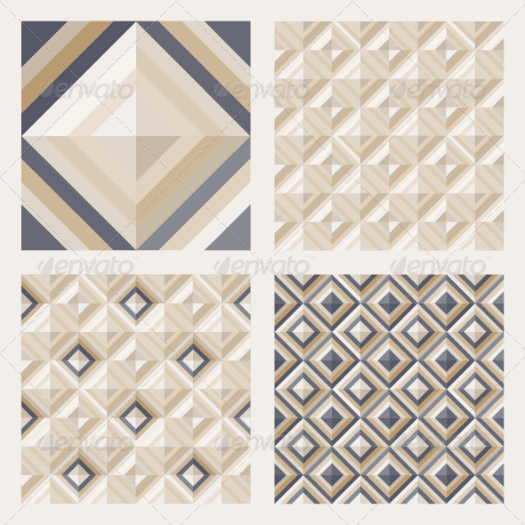 Set of Floor Tiles Patterns - Patterns Decorative