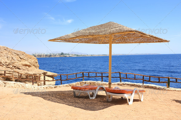 Sharm El Sheik resort - Stock Photo - Images