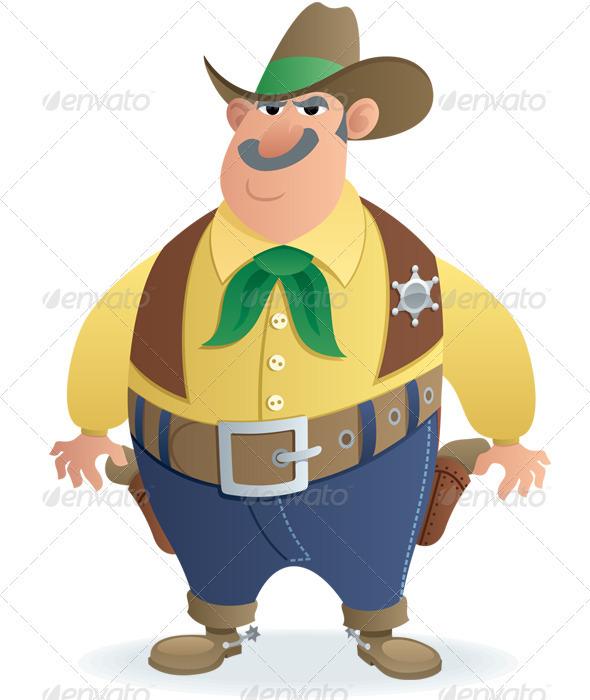 Sheriff - Characters Vectors