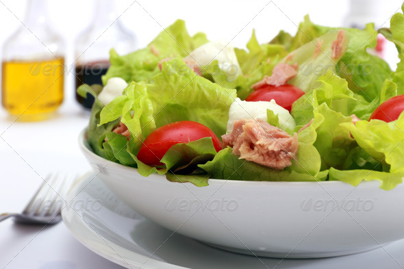 vegetable fresh salad - Stock Photo - Images