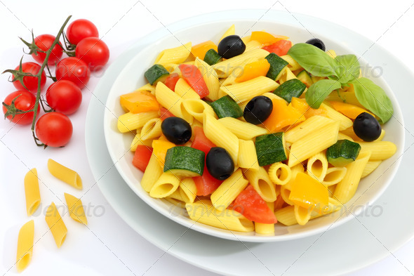 macaroni pasta - Stock Photo - Images