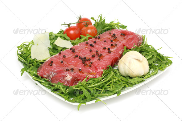 raw meat ready for barbecue - Stock Photo - Images