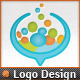 Social Media Applications Speech Bubbles Chat Logo - GraphicRiver Item for Sale