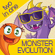 Evolution of Monsters Set - GraphicRiver Item for Sale