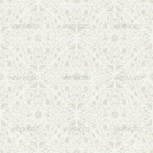 Seamless Floral Wallpaper - Patterns Decorative