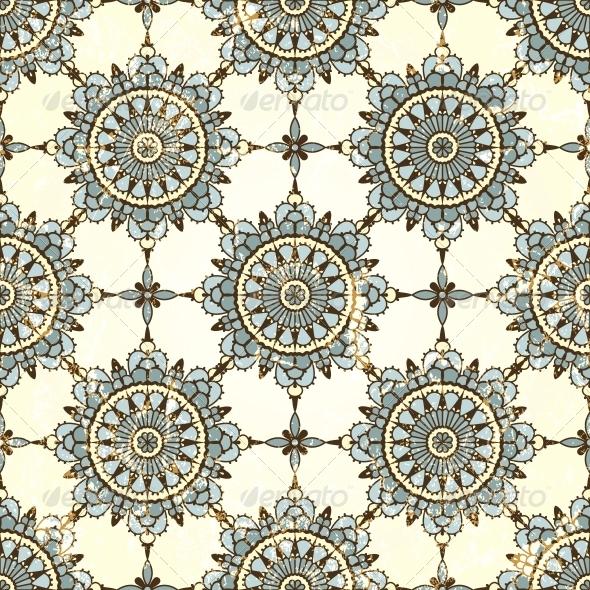 Retro Seamless Pattern - Patterns Decorative