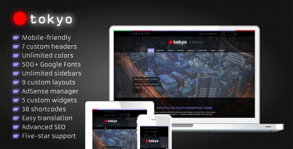 Tokyo - Business WordPress Theme
