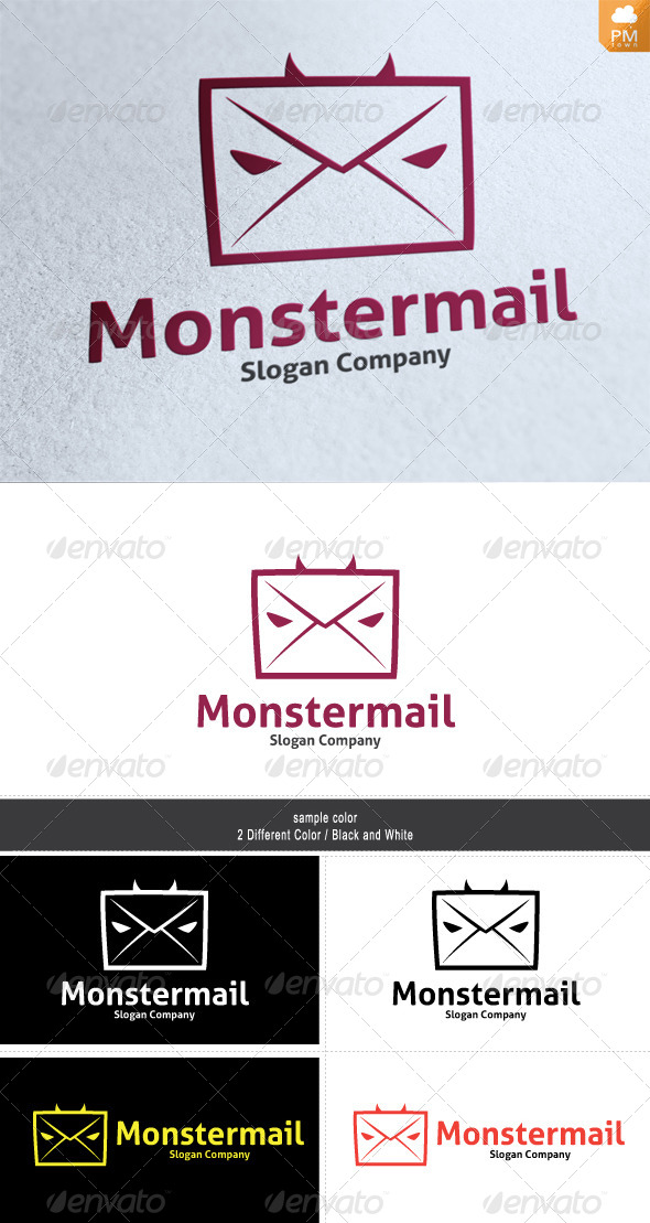 Monster Mail - Humans Logo Templates