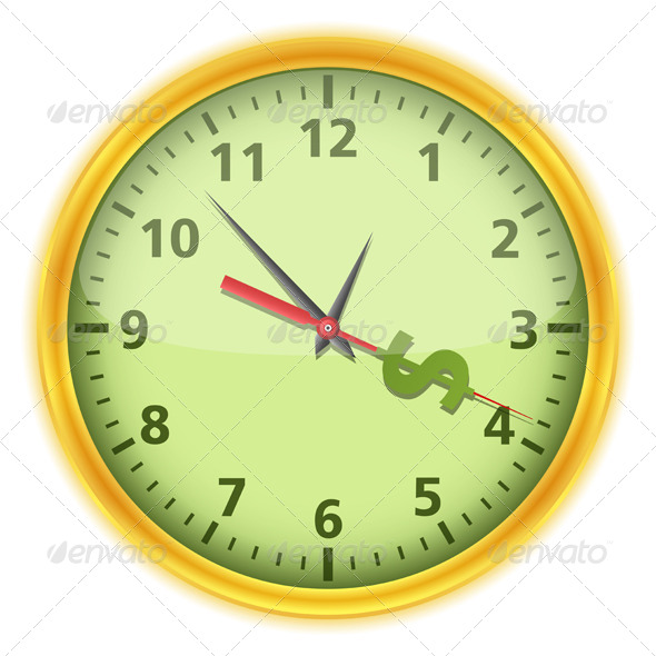 Time is Money - Business Conceptual