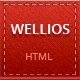 Wellios - vCard Template Nulled