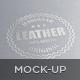 Logo/Label Mockup - Leather/Metal - GraphicRiver Item for Sale