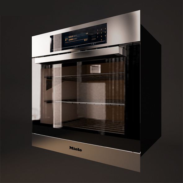 Oven Miele - 3DOcean Item for Sale