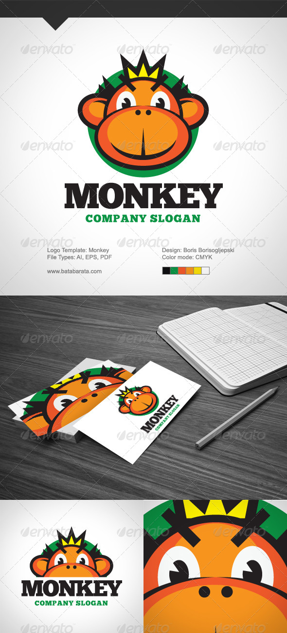 Monkey Bussiness - Logo Templates