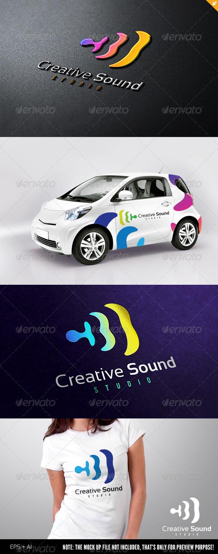 Sound Studio Logo - Abstract Logo Templates